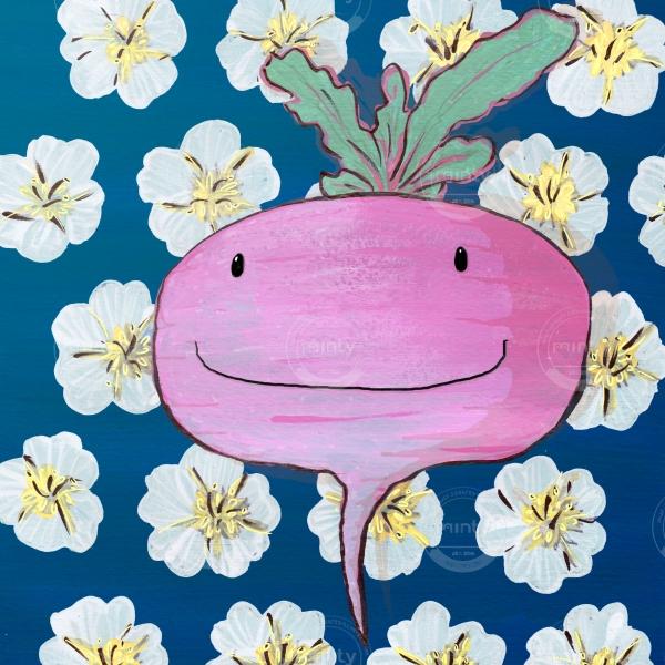 Happy radish