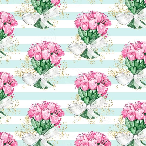 Floral Bouquet Seamless Pattern