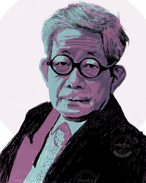 Kenzaburo Oe, Japanese author