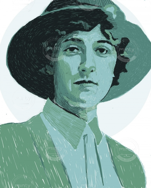 Agatha Christie, British author