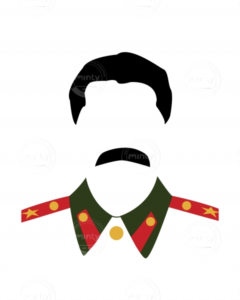 The Big Moustache, Stalin