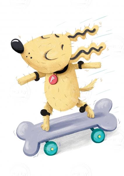Skateing dog (Lil Castle)