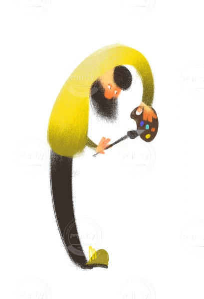painter P