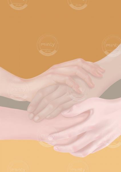 Dear Hands holding