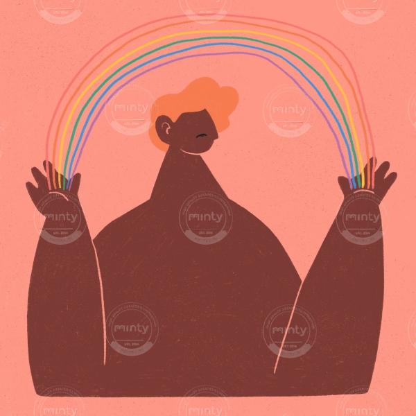 Rainbow lgbtq