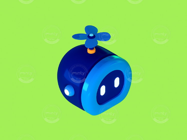 3D - Isometric - Salesforce - Character 1