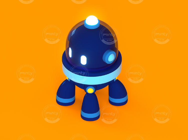 3D - Isometric - Salesforce - Character 2