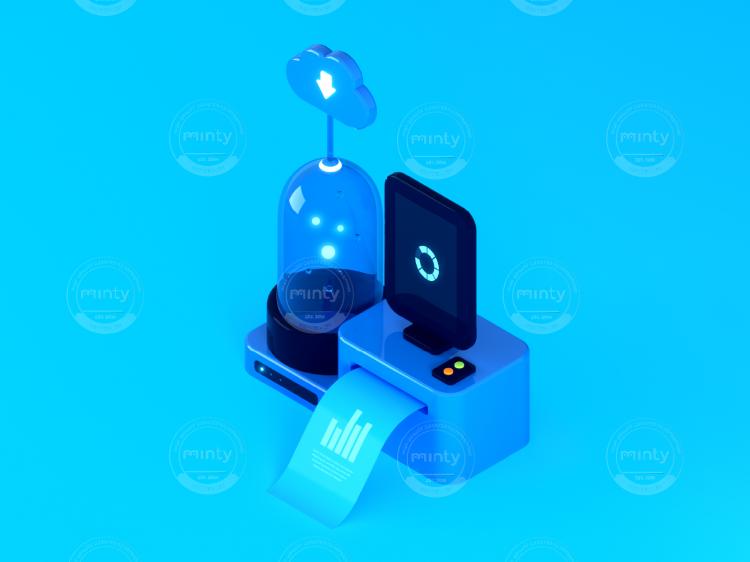3D - Isometric - Salesforce - Machine 2