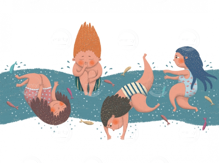 bathing_kids