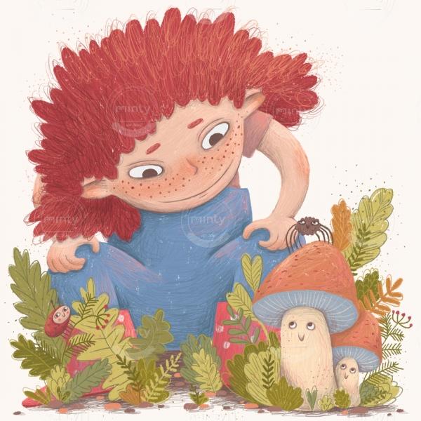 girl_and_mushrooms