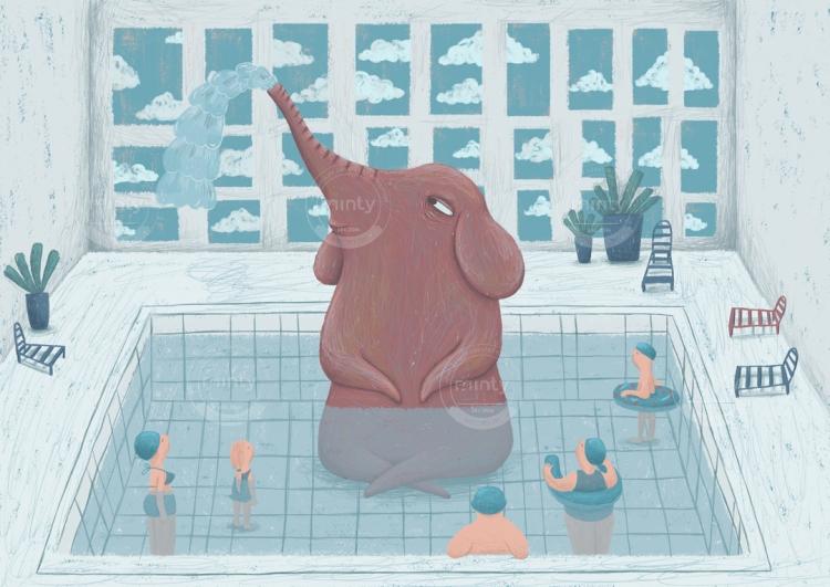 martin_elephnt_swimm
