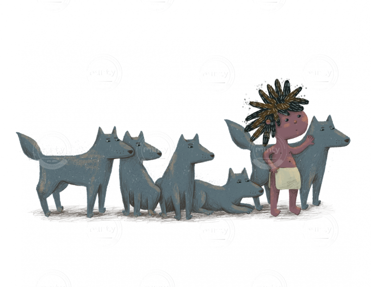 maugli-and-wolfs