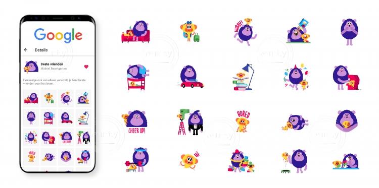 Google Gboard Stickers