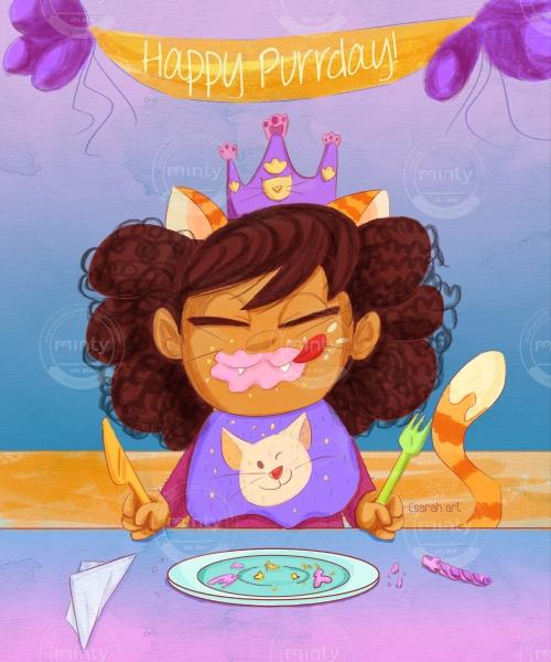 birthday pewty