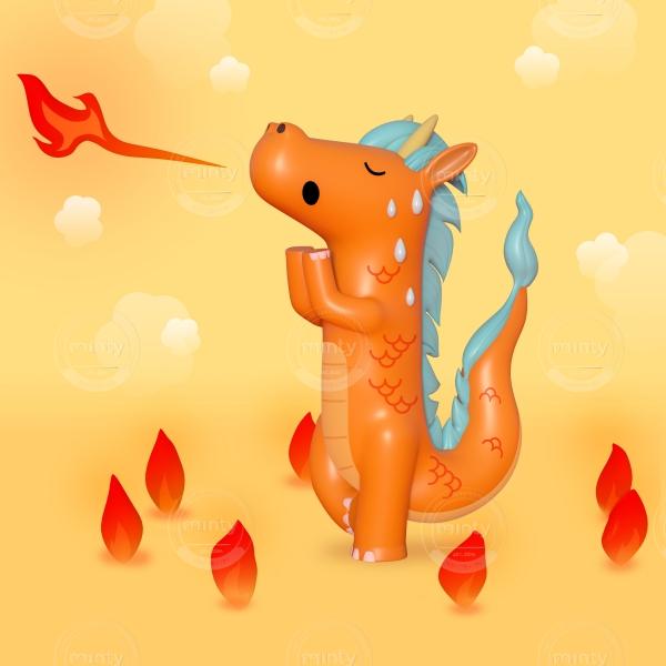 Hot Yoga Dragon