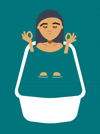 Bath yoga