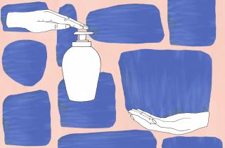 Human hand lotion.gif