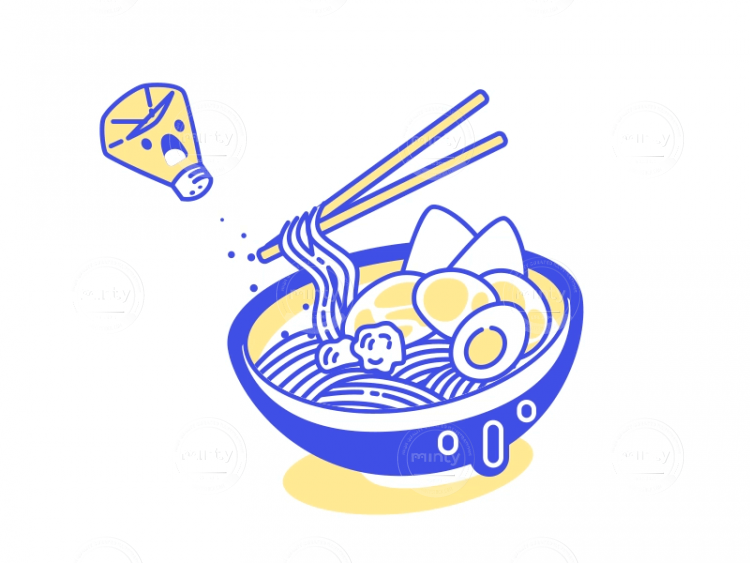 So spicy! SVG icon animation - Illustration price | Minty
